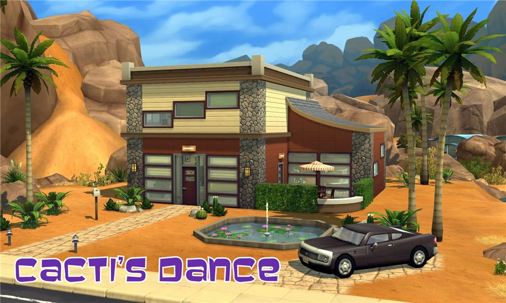 Cactis dance house by ihelen by ihelen