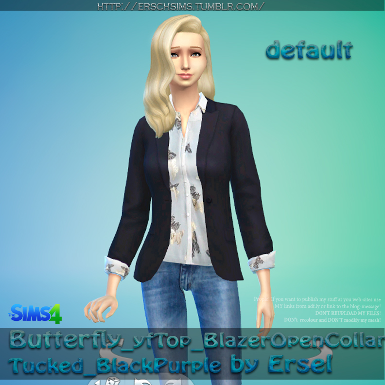 Butterfly Blazer by Ersel