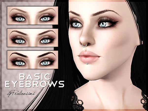 Basic Eyebrows by Pralinesims
