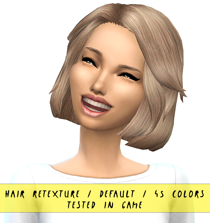 3rd hairs pack with 45 colors and swatches at Miss Paraply