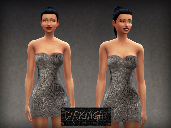Herve Leger Silver Dress by DarkNighTt