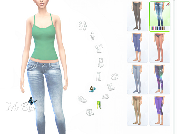 Skinny Jeans set by Ms Blue
