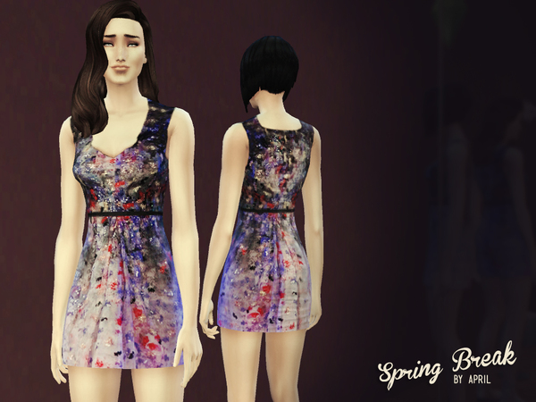 Spring Break Dress by -April-