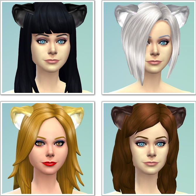 Betty Boop Cat Ears 3t4 Conversion at Nyami Sims
