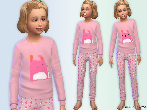 Bunny Pyjamas by minicart
