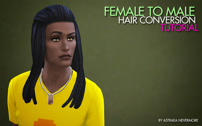 Braided - Female to Male Hair Conversion by ThePathOfNevermore