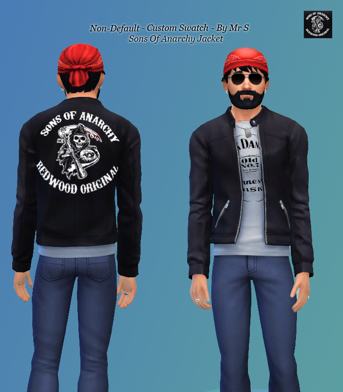 Sons of Anarchy Jacket for Males by Simista