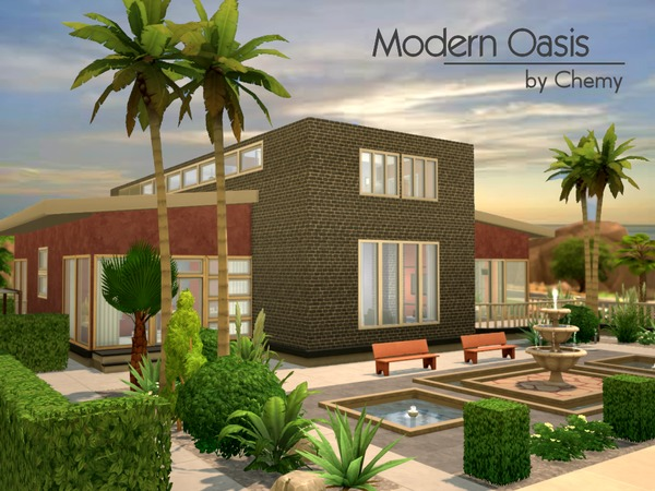 Modern Oasis by chemy