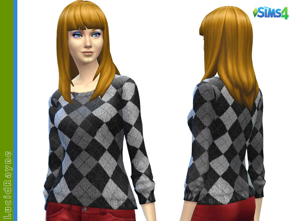 Argyle Sweater by LucidRayne