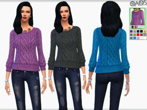 Ioan V Knit Neck Recolor Set by OranosTR