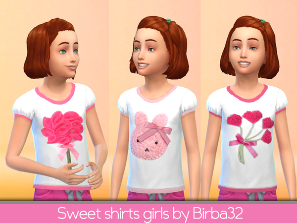 Sweet shirts for pretty girls by Birba32