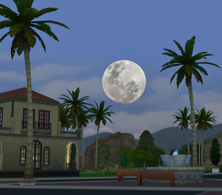TS3 to TS4 Moon by Simsl3gacies