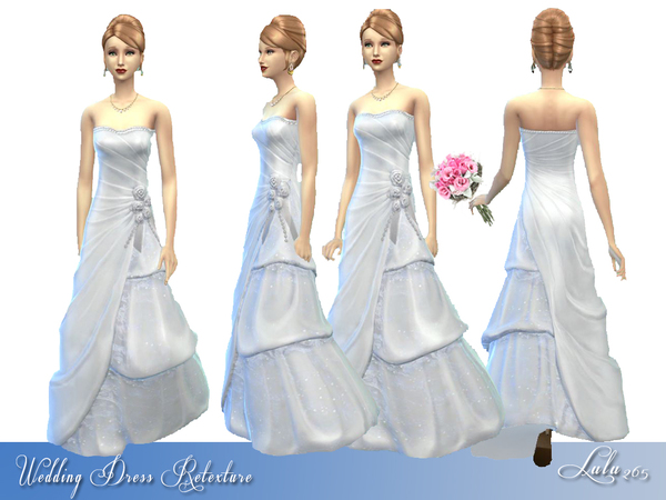 Three Tier Wedding Dress Retexture by Lulu265