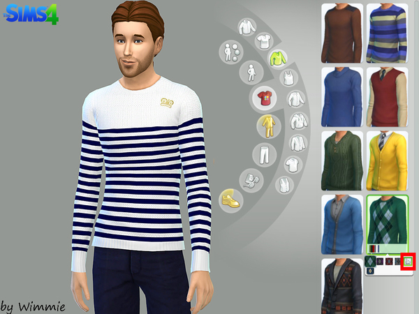 Casual Look Set 01 by Wimmie