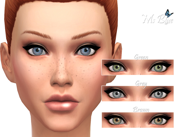 Authentic Eyes Set by Ms Blue