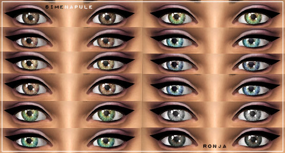 Default Eyes 01 by Ronja