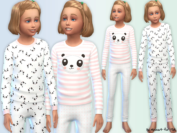 Panda Pyjamas by minicart