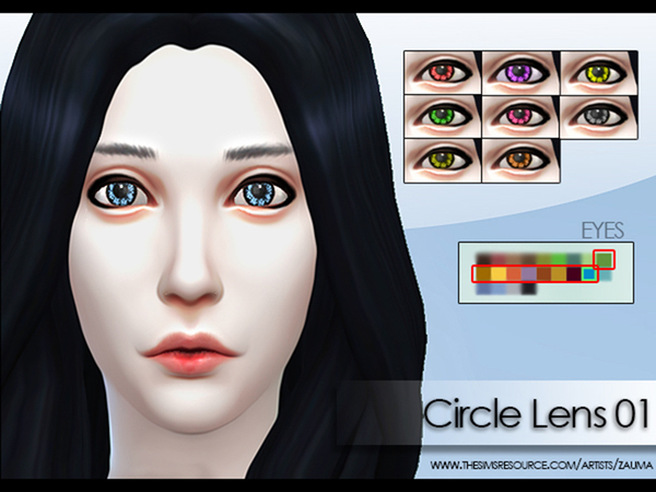 Circle Lens Set 01 by Zauma