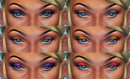 Eyeshadow by Supertrapb0lous