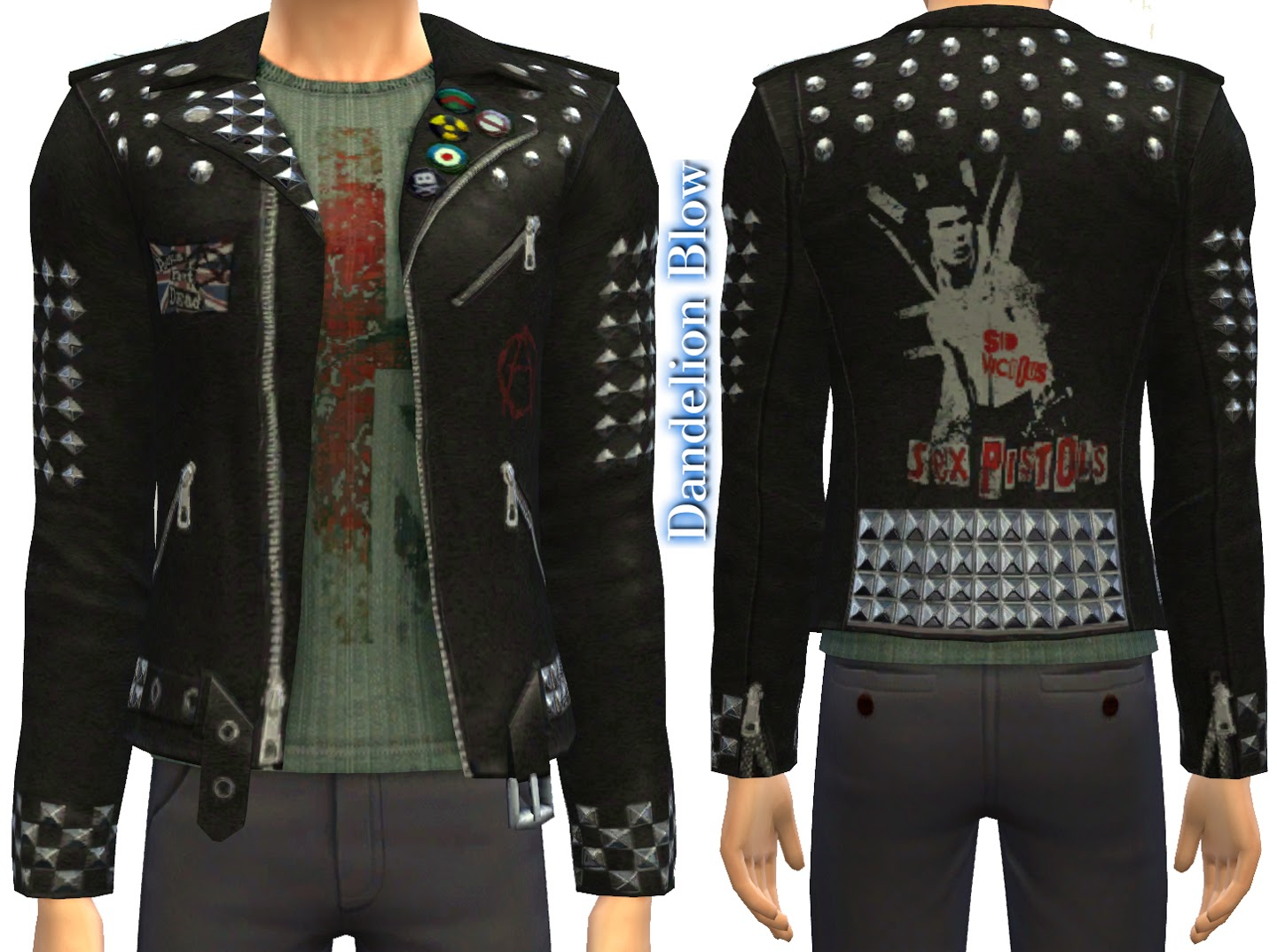 Metallica & Sex Pistols Leather Jackets by DocStone