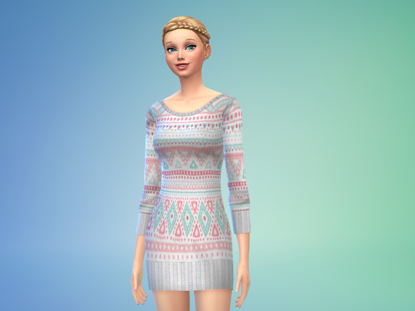 Sweater Dress Outfit by Black__Phoeni