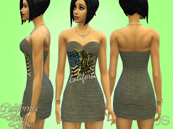 California Dream Dress by JavaSims