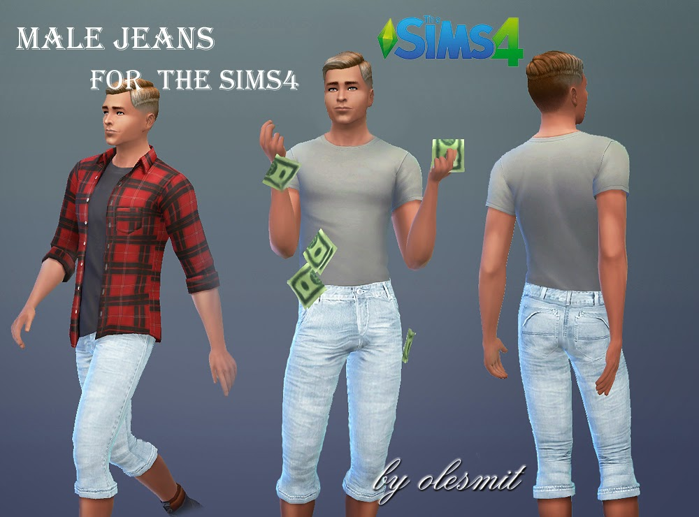 Jeans for Males by Olesmit