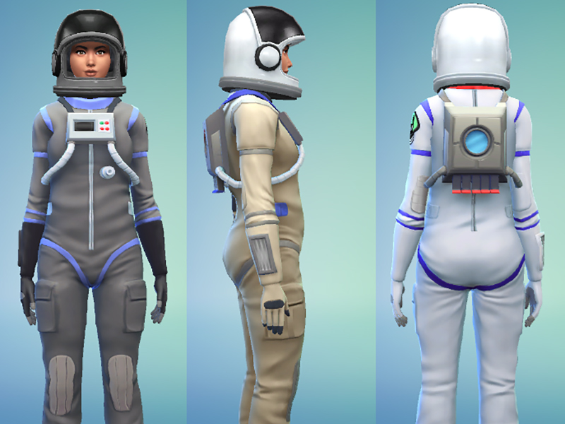 Space Suit Outfit by Snaitf