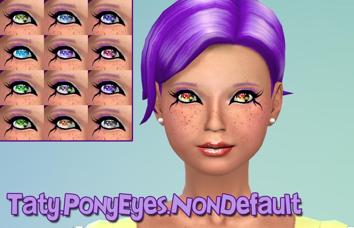 Pony Eyes Non Default at Taty
