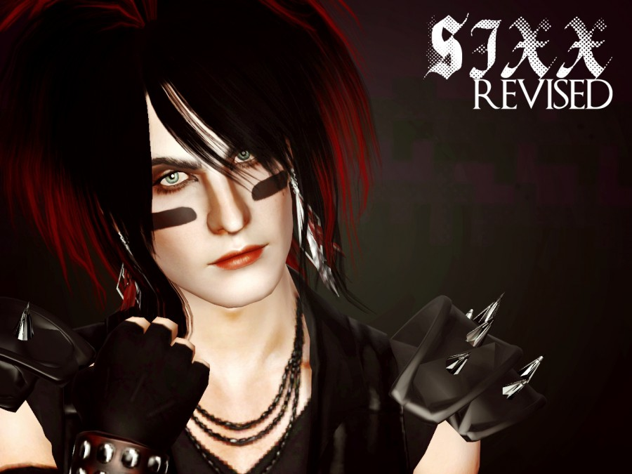 Nikki Sixx Sim and Hair by ThePathOfNevermore