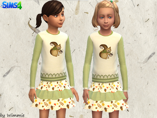 Girls Set 01 - Amazing Autumn by Wimmie