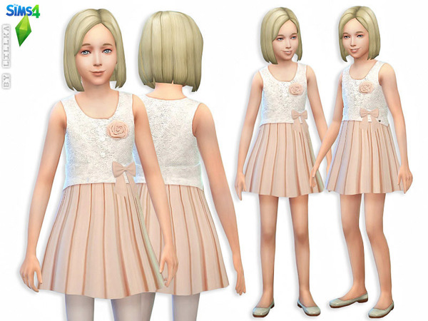 Beige Summer Dress by lillka
