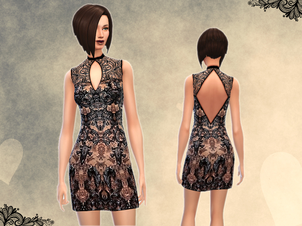 _Everlasting_ Lace Dress by notegain