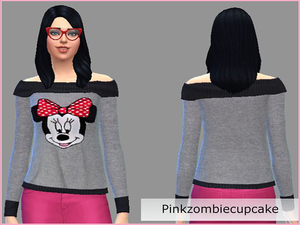 Minnie Mouse cardigan by Pinkzombiecupcakes