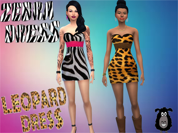 Animal print in dresses by OvejaNegra