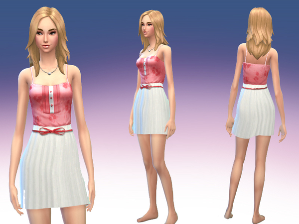 Shirt with white skirt Outfit by Black__Phoenix