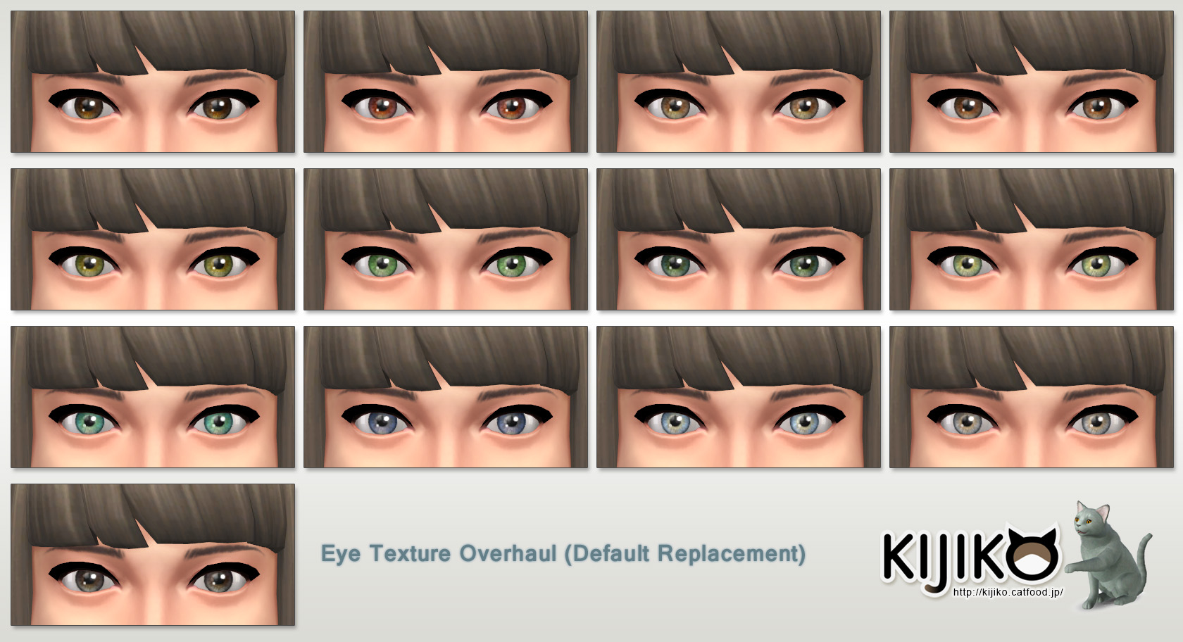 Eye Texture Overhaul at Kijiko