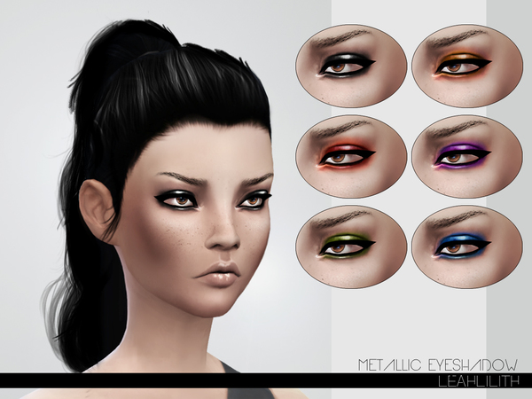 LeahLillith Metallic Eyeshadow by Leah Lillith