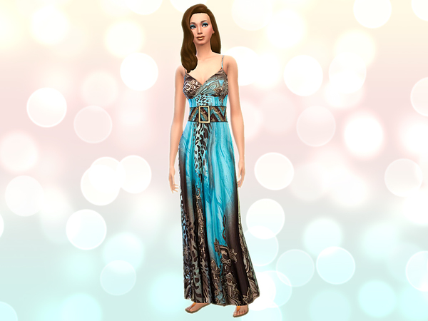 _Uncharted_ Long Dress by notegain