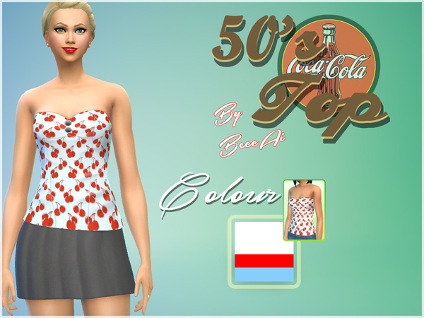 50's Top by BeccAi