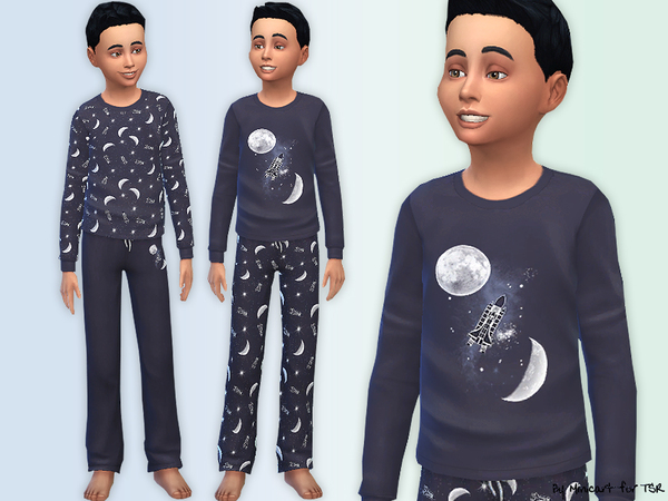 Space Pyjamas for Boys by minicart