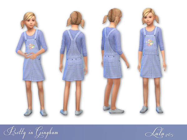 Pretty in Gingham by Lulu265