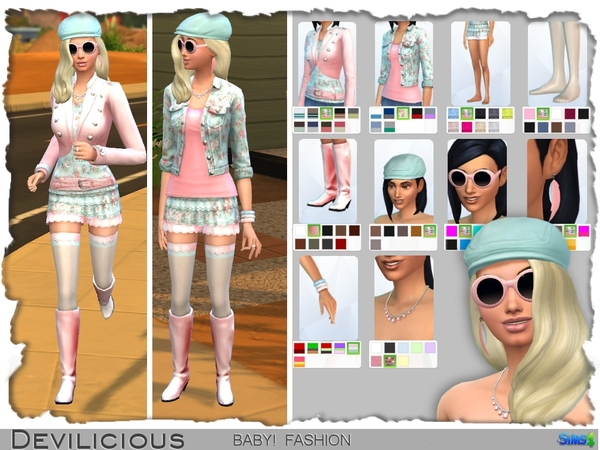 BABY! Fashion Set by Devilicious