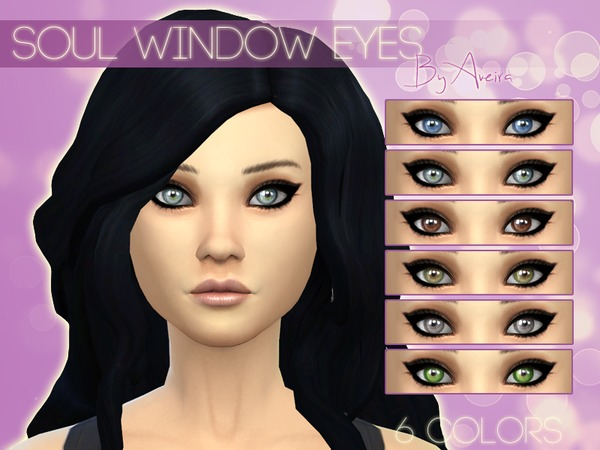 Soul Window Eyes by Aveira
