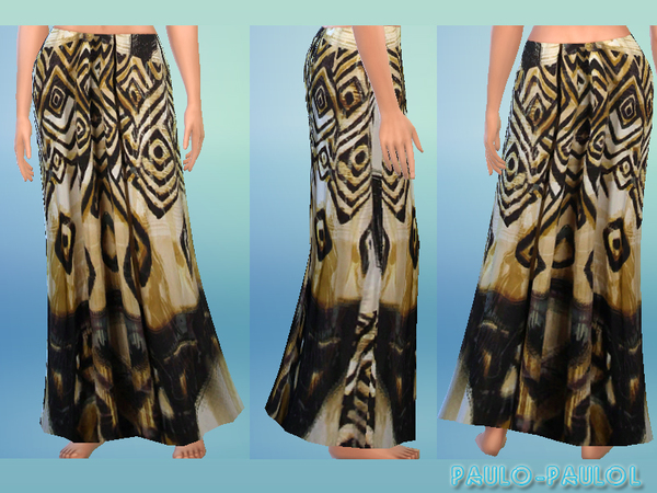 Maxi skirt by paulo-paulol
