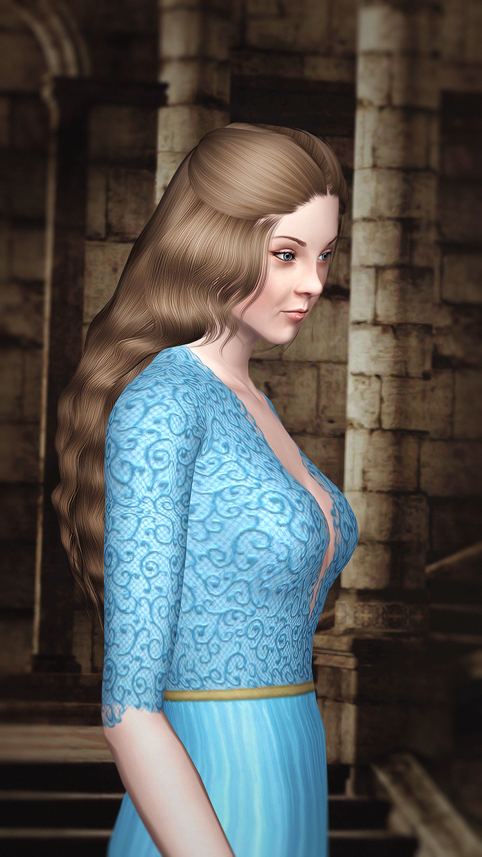 Maergery Tyrell / Natalie Dormer - Game of Thrones by Kurasoberina