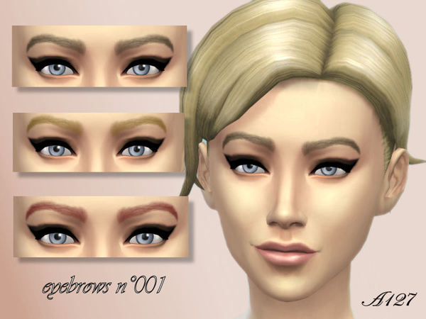 Eyebrows n001 by altea127
