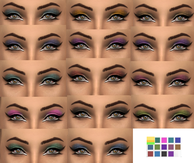 Eyeshadow by Simply Simming
