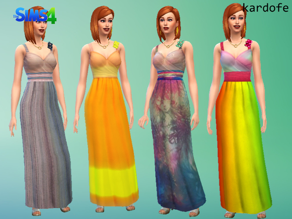 yfBody_DressBridesmaid_recolor by kardofe