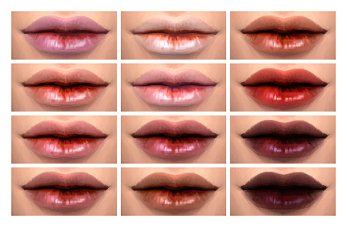 TS2 to TS4 Ephemera's Lips by Chisami